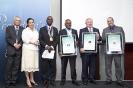 Top Finalists Danny Naidoo,Darryl Thwaits and Robert Boccia accepts their awards