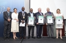 The four top finalists for the Visionary CIO of the year accept their awards