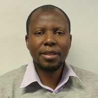 Cecil Kgoetiane, Manager: information systems, SA Weather Service
