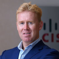 Scott Manson, cyber security leader for Middle East, Africa and Turkey, Cisco Systems International