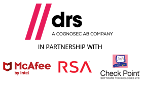 DRS in partnership with McAfee, RSA and Check Point