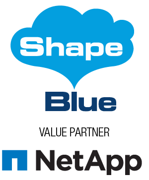 Shape Blue supplier to NetApp