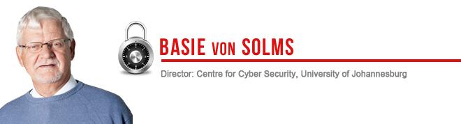 Prof SH (Basie) von Solms