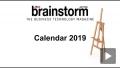 : 2019 Annual Brainstorm Calendar