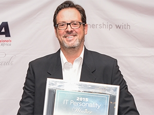 Niel Schoeman, Founder and CEO of Vumatel - IT Personality of the Year 2015 winner
