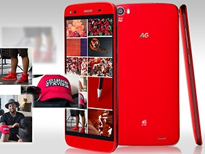 AG Mobile's new smartphone device will be available for purchase in stores next month.