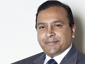 SITA's ?head of department: financial systems and processes, Maiendra Moodley.