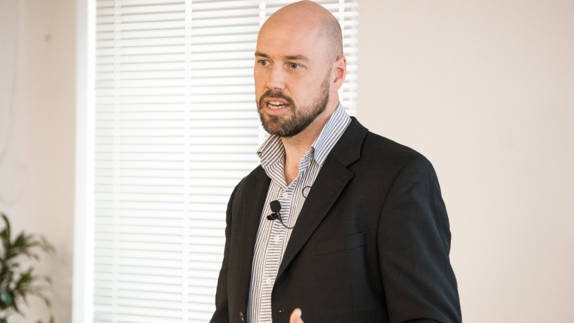 Philip Kiracofe, co-managing director for Startupbootcamp Africa.