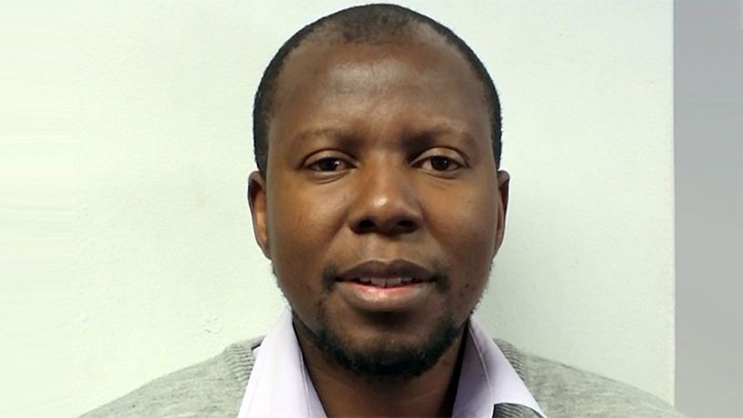 Cecil Kgoetiane, data engineer at the South African Weather Service.