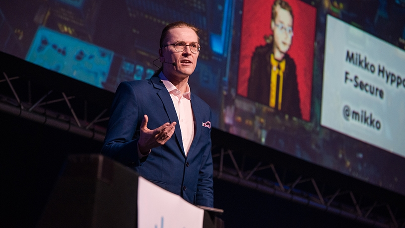 Mikko Hypponen, chief research officer of F-Secure. Photo by Devin Armstrong