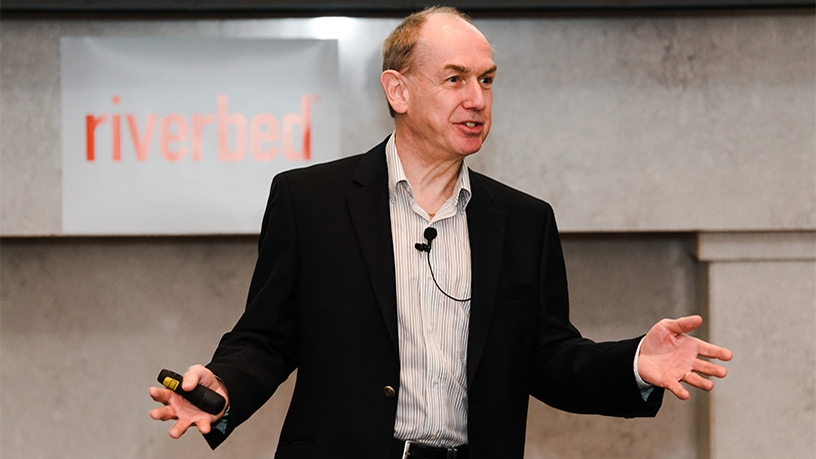 Paul Griffiths, senior director, advanced technology group, office of the CTO, for Riverbed EMEA.
