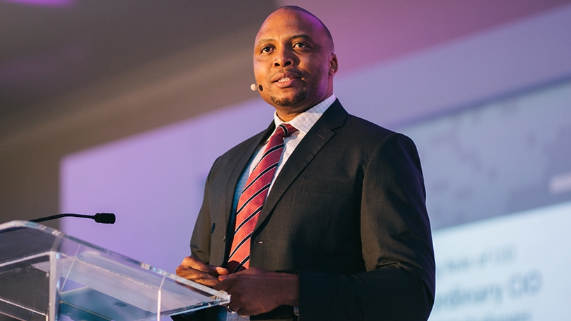 Sello Mmakau, CIO of the Financial Sector Conduct Authority.