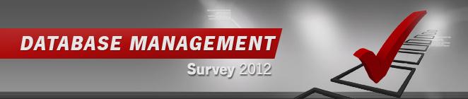[Database Management survey 2012]