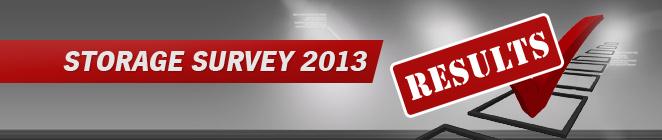 [Storage Survey 2013]