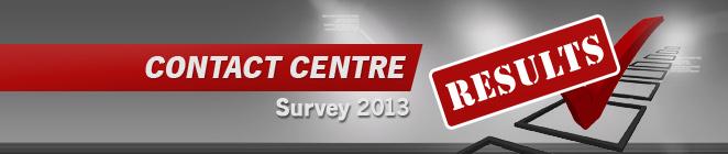 [Contact Centre Survey 2013]
